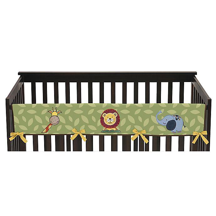 Alternate image 1 for Sweet Jojo Designs Jungle Time Long Crib Rail Cover