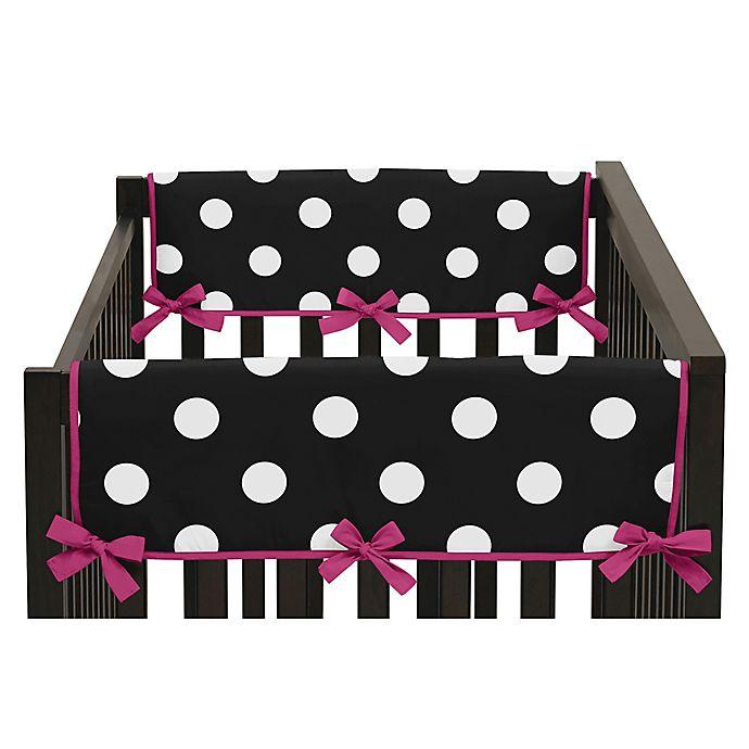Alternate image 1 for Sweet Jojo Designs Side Crib Rail Covers (Set of 2)