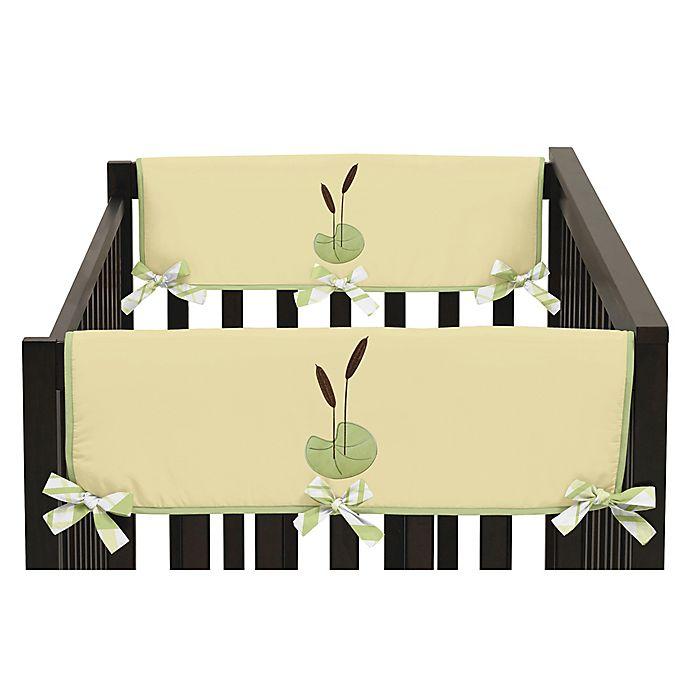 Alternate image 1 for Sweet Jojo Designs Leap Frog Side Crib Rail Covers (Set of 2)