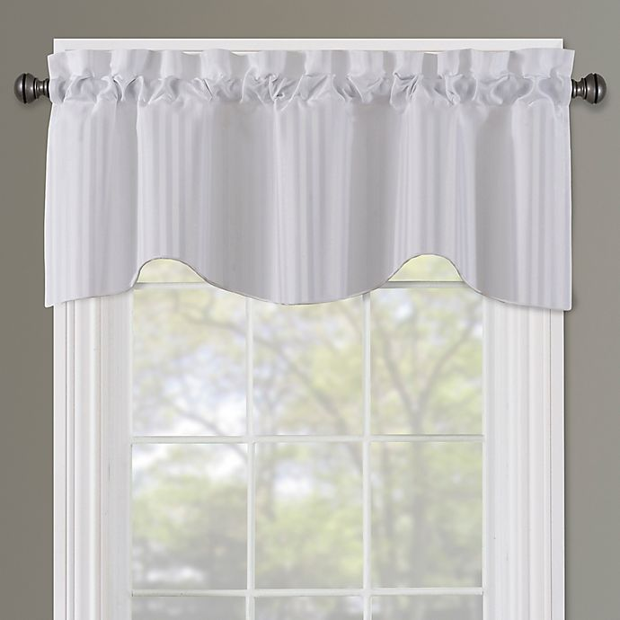 Sutton Rod Pocket Lined Window Valance