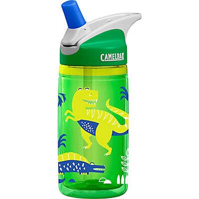 CamelBak® Kids' eddy® 0.4-Liter Dino Water Bottle in Green