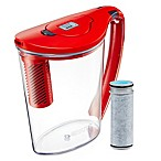 Brita® 10-Cup Stream Pitcher in Red