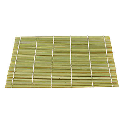 Helen's Asian Kitchen® Bamboo Sushi Mat in Green