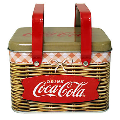 Coca-Cola Embossed Basket