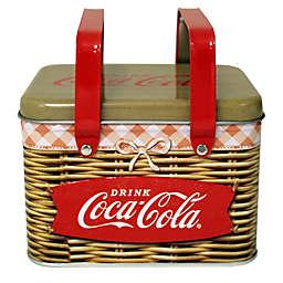 Coca-Cola Embossed Basket
