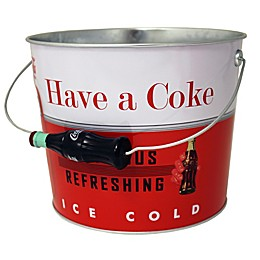 Coca-Cola Galvanized Steel Beverage Bucket