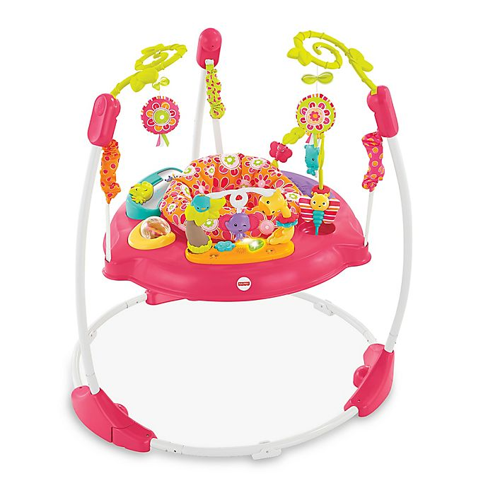 Alternate image 1 for Fisher-Price® Pink Petals Jumperoo™