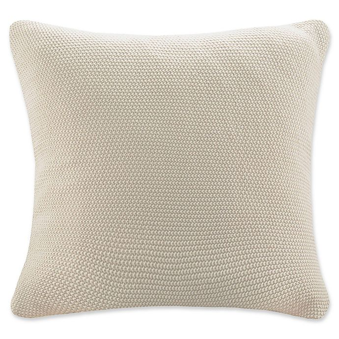 Alternate image 1 for INK + IVY® Bree Knit European Pillow Cover