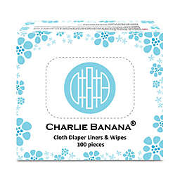 Charlie Banana® 100-Count 2-in-1 Diaper Liners & Wipes