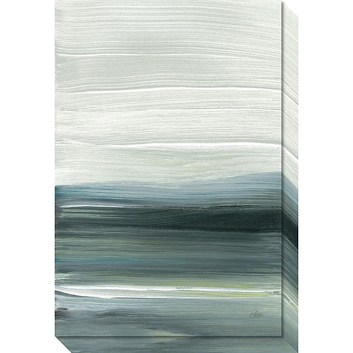 Alternate image 1 for Silver Silence: Opal Sky Canvas Wall Art
