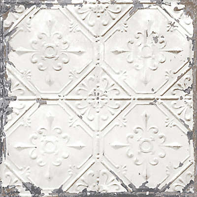 NuWallpaper™ Vintage Tin Tile Peel and Stick Wallpaper
