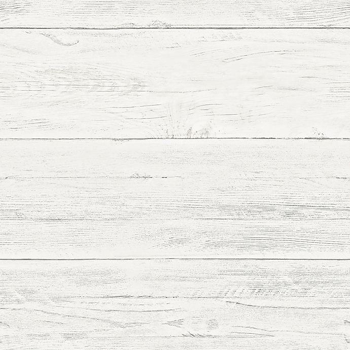 Nuwallpaper Shiplap Peel And Stick Wallpaper