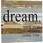 Sweet Bird & Co.  Dreams Come True  Wood Wall Art