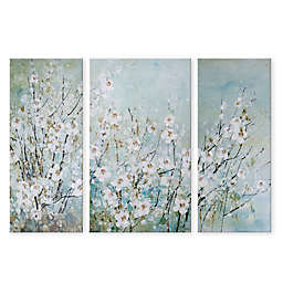 Blossoming Branches 36 Inch X 51 3 Piece Canvas Wall
