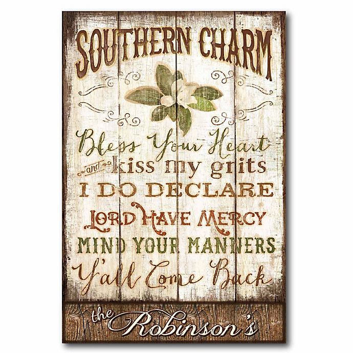 Alternate image 1 for Courtside Market Southern Charm Canvas Wall Art