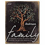 Courtside Market Family Tree Canvas Wall Art