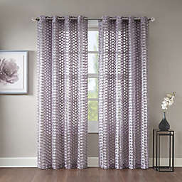Erin Sheer Grommet Top Window Curtain Panel