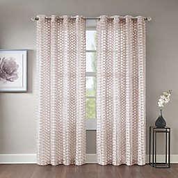 Erin Sheer Grommet Top Window Curtain Panel
