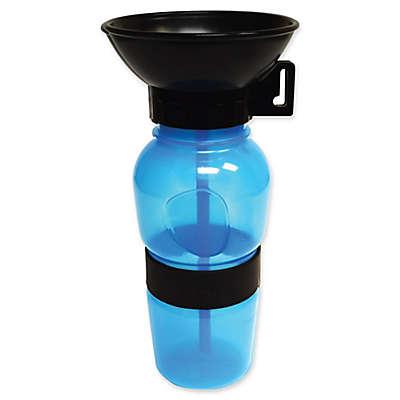 Aqua Dog Travel Water Bowl Bottle in Aqua