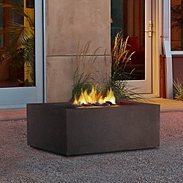 Real Flame© Baltic Square Liquid Propane Fire Table