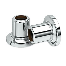 Gatco® Tiara Shower Rod Wall Flanges in Chrome (Set of 2)