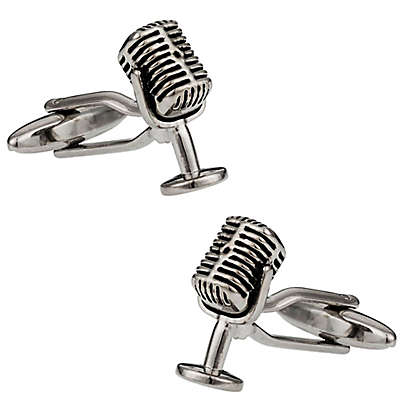 Cuff-Daddy Microphone Cufflinks