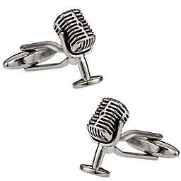 Cuff-Daddy Microphone Cufflinks