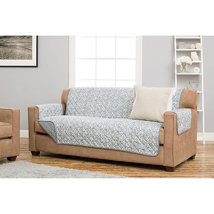Great Bay Home Katrina Deluxe Reversible Sofa Protector