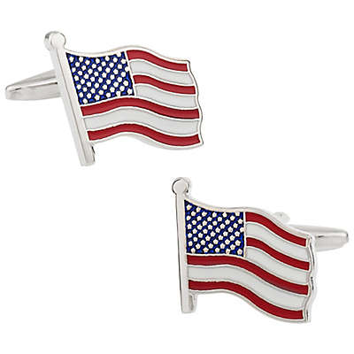 Cuff-Daddy American Flag Cufflinks