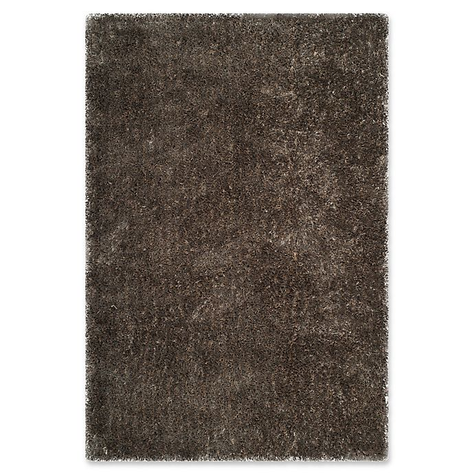 Alternate image 1 for Safavieh Toronto 4-Foot x 6-Foot Shag Area Rug in Taupe