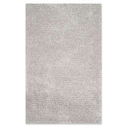 Safavieh Ultimate 3-Foot x 5-Foot Shag Area Rug in Silver