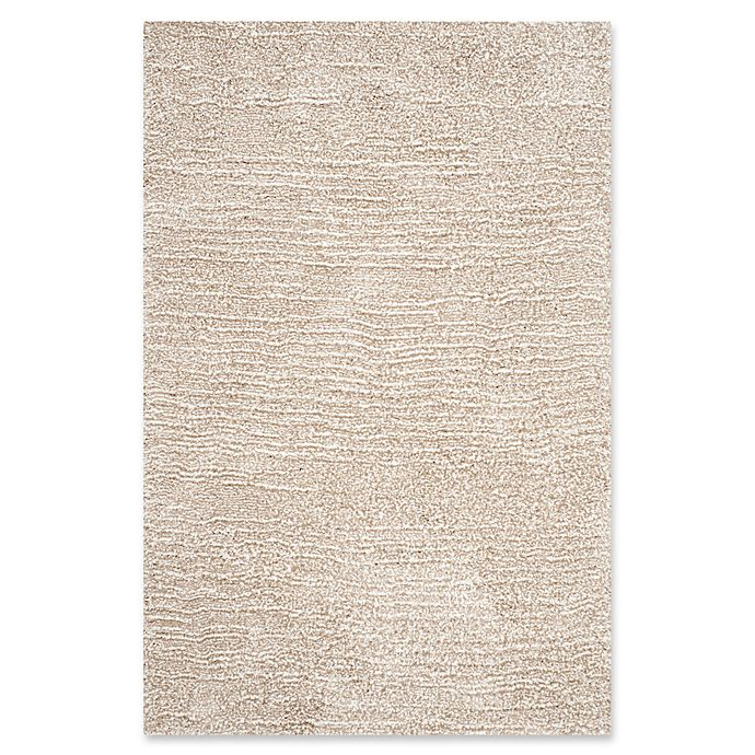 Alternate image 1 for Safavieh Ultimate 3-Foot x 5-Foot Shag Rug in Sand/Ivory