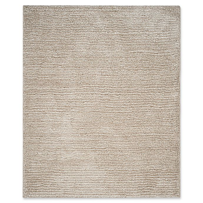 Alternate image 1 for Safavieh Ultimate 8-Foot x 10-Foot Shag Area Rug in Sand/Ivory