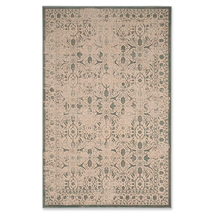 Alternate image 1 for Safavieh Brilliance Coinage Rug in Cream/Sage