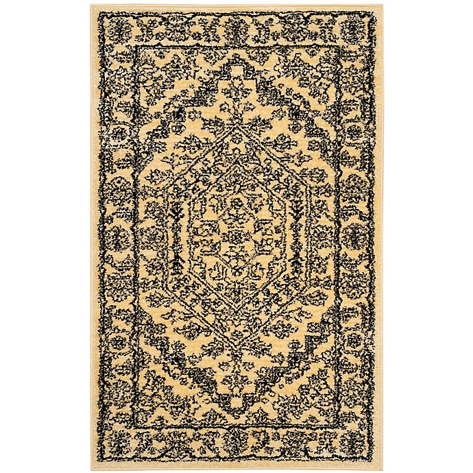 Alternate image 1 for Safavieh Adirondack Traditional Floral 2-Foot 6-Inch x 5-Foot Runner Rug in Gold