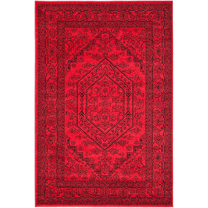 Alternate image 1 for Safavieh Adirondack Traditional Floral 6-Foot x 9-Foot Area Rug in Red
