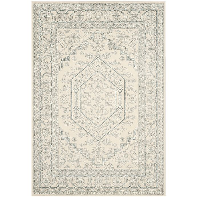 Alternate image 1 for Safavieh Adirondack Traditional Floral 6-Foot x 9-Foot Area Rug in Ivory