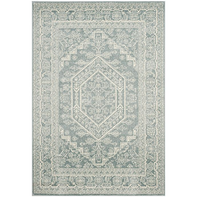 Alternate image 1 for Safavieh Adirondack Traditional Floral 6-Foot x 9-Foot Area Rug in Slate