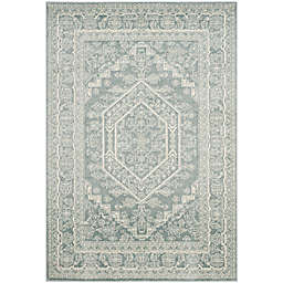 Safavieh Adirondack Traditional Floral 6' x 9' Area Rug in Slate
