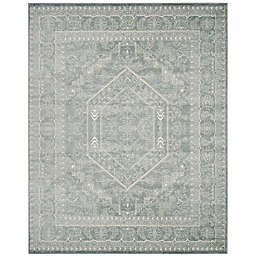 Safavieh Adirondack Traditional Floral 8' x 10' Area Rug in Slate