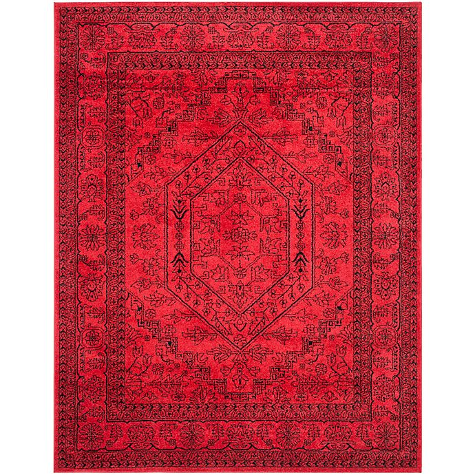 Alternate image 1 for Safavieh Adirondack Traditional Floral 9-Foot x 12-Foot Area Rug in Red