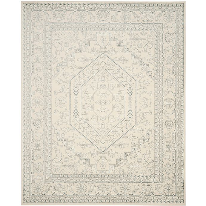 Alternate image 1 for Safavieh Adirondack Traditional Floral 9-Foot x 12-Foot Area Rug in Ivory