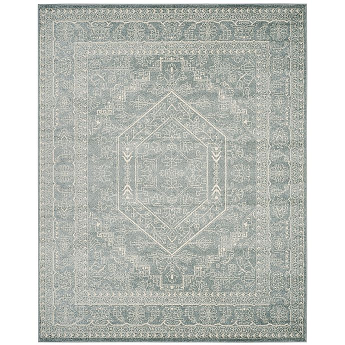 Alternate image 1 for Safavieh Adirondack Traditional Floral 9-Foot x 12-Foot Area Rug in Slate