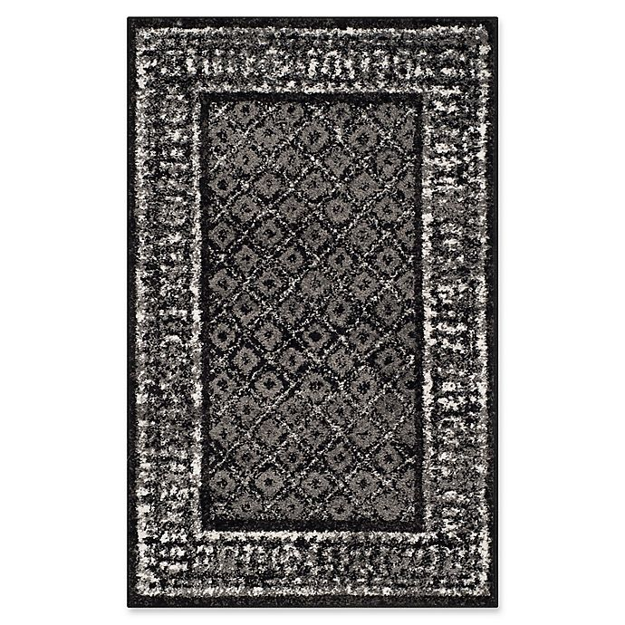 Alternate image 1 for Safavieh Adirondack 2-Foot 6-Inch x 4-Foot Accent Rug in Black