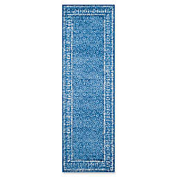 Safavieh Adirondack 2-Foot 6-Inch x 14-Foot Runner in Blue