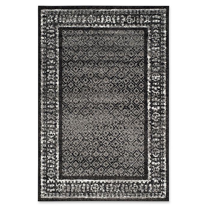Alternate image 1 for Safavieh Adirondack 6-Foot x 9-Foot Area Rug in Black