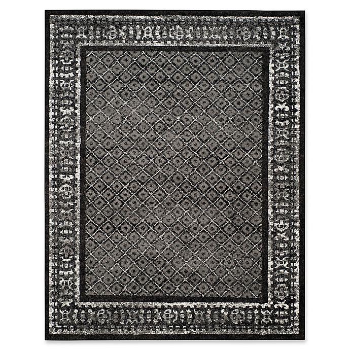 Alternate image 1 for Safavieh Adirondack 9-Foot x 12-Foot Area Rug in Black