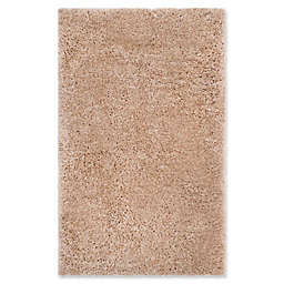 Safavieh Supreme 3-Foot x 5-Foot Shag Area Rug in Beige