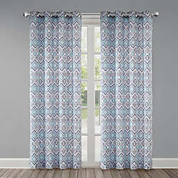 Echo Triana Grommet Top Window Curtain Panel