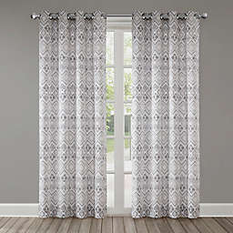 Echo Triana Grommet Top Window Curtain Panel